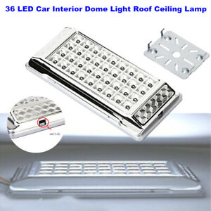 12V 36 LED Car Vehicle Interior Dome Light Roof Ceiling Lamp Bulb Energy-Saved