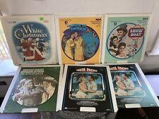 CED Selectavision Videodiscs Classics LotOf 5 White Christmas Singin In The Rain
