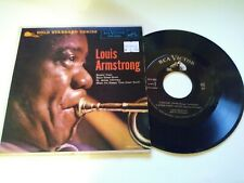 Louis Armstrong - Rockin' Chair VG+ RCA Victor EP 45 RPM Record & Sleeve 1957