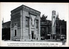 PARIS / EXPOSITION DES ARTS DECORATIFS ,HORLOGE MONUMENTALE au PAVILLON d'ITALIE