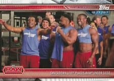 2019 Topps Wwe Road to Wrestlemania Trading Card, #8 the Blue Brand