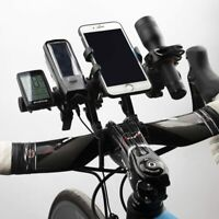 Bicycle Handlebar Bike Bracket Extended Computer Phone GPS Holder Frame Mount