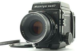 【N MINT+5】 Mamiya RB67 Pro S + Sekor C 127mm f/3.8 Lens 120 Film Back From JAPAN
