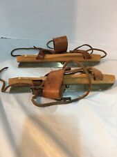Antique Wooden Ice Skates
