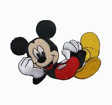 "#6769S 2 3/4"" Mickey Mouse Embroidery Iron On Applique Patch"