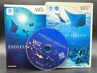 "NINTENDO WII SPIEL"" ENDLESS OCEAN "" KOMPLETT"