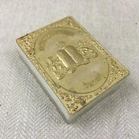 Vintage Ebraico Scatola Custodia Ebraico Preghiera Libro Porta Judaica