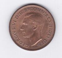 CB1440) Australia 1951 London Penny. Choice uncirculated