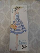 MIB Suburban Shopper Barbie Dated 2000 Reproduction Of 1959 Doll & Fashion
