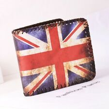 Union Jack Great Britain British Flag Mens Boys Wallet New Free Tracking