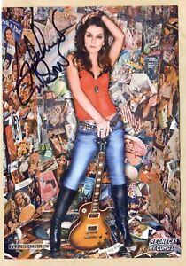 Gretchen Wilson - US Countrysängerin - original signierte Autogrammkarte 13x18cm