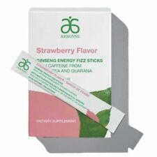 Arbonne Ginseng Energy Fizz Sticks- 30 pack Strawberry exp. 01/2022