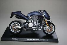 MAISTO DIECAST 1;18 MUNCHMAMMUT 2000 MODEL MOTORBIKE