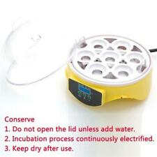 Mini Poultry Egg Incubator Hatcher Temperature Control Automatic Turning Chicken