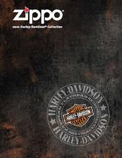Briquet Zippo 2010 Harley Davidson Collection Produit Prix Catalogue Livre