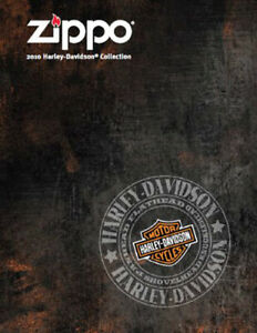 Zippo Lighter 2010 Harley Davidson Collection Product Price Catalog Book