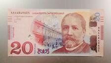 Georgia, 20 Lari, 2016, Georgian National Bank, Old Tiflis, UNC!