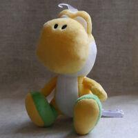 "Nintendo Super Mario Bros. sidekick Yoshi  6 1/2""  Yellow Plush Doll Toy"