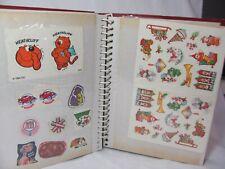 Vintage 1970/80 Sticker Book Hundreds of Stickers Michael Jackson X-Men Nintendo
