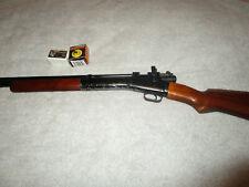 CROSMAN 101 air pump pellet gun/rifle peep 22 cal sn 2930J rifling walnut 1920s