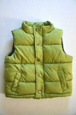 Kids Unisex Gymboree Vest Green Fleece Lining Puffy Coat Size 12-24 Months