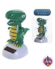 SOLAR POWERED FLIP FLAP DANCING T REX DINOSAUR TOY GREAT GIFT IDEA