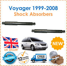 For Chrysler Voyager IV 1999-2008 Two Rear Gas Shock Absorbers Set Pair New