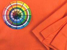 """Orange Felt by the Yard 36"""" wide polyester Kunin Eco-Fi bolt fabric craft Iii"""