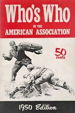 WHO'S WHO IN THE AMERICAN ASSOC. 1950-FORD,WILHELM,PIERSALL,MIZE, BURDETTE,ETC.
