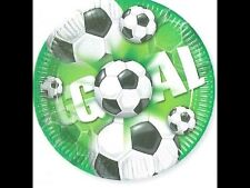 Lot 10 assiettes anniversaire Football / soccer