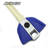 Blue Blank Blade Uncut key For BMW K1600GTL R1200RT LC R1200GS ADV S1000R 2017