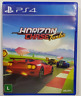 Rare Brazilian Physical Copy of Horizon Chase Turbo for the Playstation 4 PS4