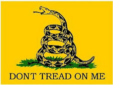 DON'T TREAD ON ME STICKER - MADE IN THE USA!!!