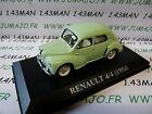 Coche 1/43 IXO altaya coches d'antan : RENAULT 4/4 4CV 1954 España