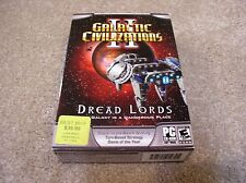 PC CD-ROM Galactic Civilizations II: Dread Lords in box