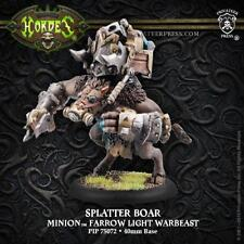 Hordes: Minions Splatter Boar Farrow Light Warbeast by Privateer Press PIP 75072