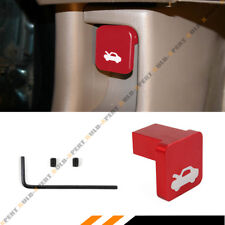FOR HONDA CIVIC CR-V ELEMENT RIDGELINE HOOD RELEASE LATCH HANDLE KNOB OPENER RED