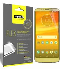 3x Motorola Moto E5 Plus Screen Protector Protective Film covers 100% dipos Flex