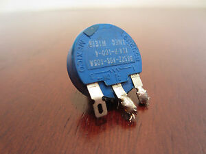 Bourns 3852Z-A98-105A 114-P-100-4 1 Meg Potentiomètre