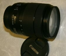 Canon 18-135mm Zoom Lens f/3.5-5.6 USM IS EF-S MINT!! w/filter, caps