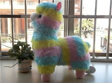 "Huge New Amuse Rainbow Arpakasso Alpacasso Colourful Alpaca Plush Toy Gift 20"""