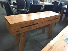Medium Wood Tone Buffets Living Room