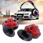 12V 110DB Loud Cars Dual-tone Snail Electric Air Horn Siren Universal Waterproof