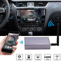 HDMI Wireless WIFI Box Airplay for iPhone Android GPS Navigation Video to Car TV