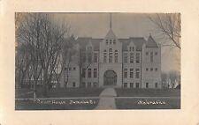 Real Photo Postcard Courthouse in Nemaha County, Nebraska~108323