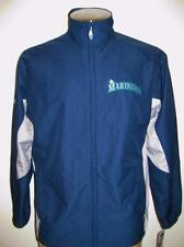 New Men's Seattle Mariners Majestic Cool Base Gamer Performance Jacket Sz XL