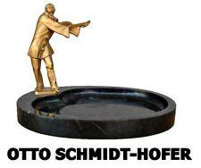 vide poche art déco bronze doré Otto Schmidt-hofer