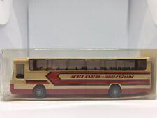 "Wiking HO 1/87 Mercedes O 303 Coach Bus ""Kelder-Reisen"" 712 - Vintage 1988"