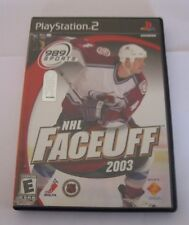 NHL FaceOff 2003 (Sony PlayStation 2, 2002)