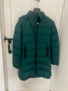 THE NORTH FACE METROPOLIS PARKA 3 GREEN - DOWN insulated WOMEN'S PUFFER COAT - S